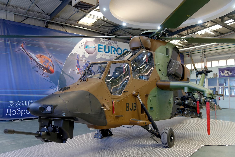 Elicottero Tiger : Eurocopter consegna la prima versione tiger had al