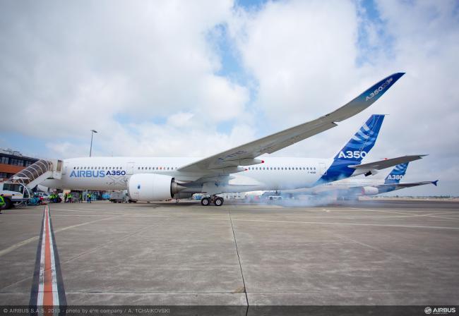 A350_XWB_first_engine_run
