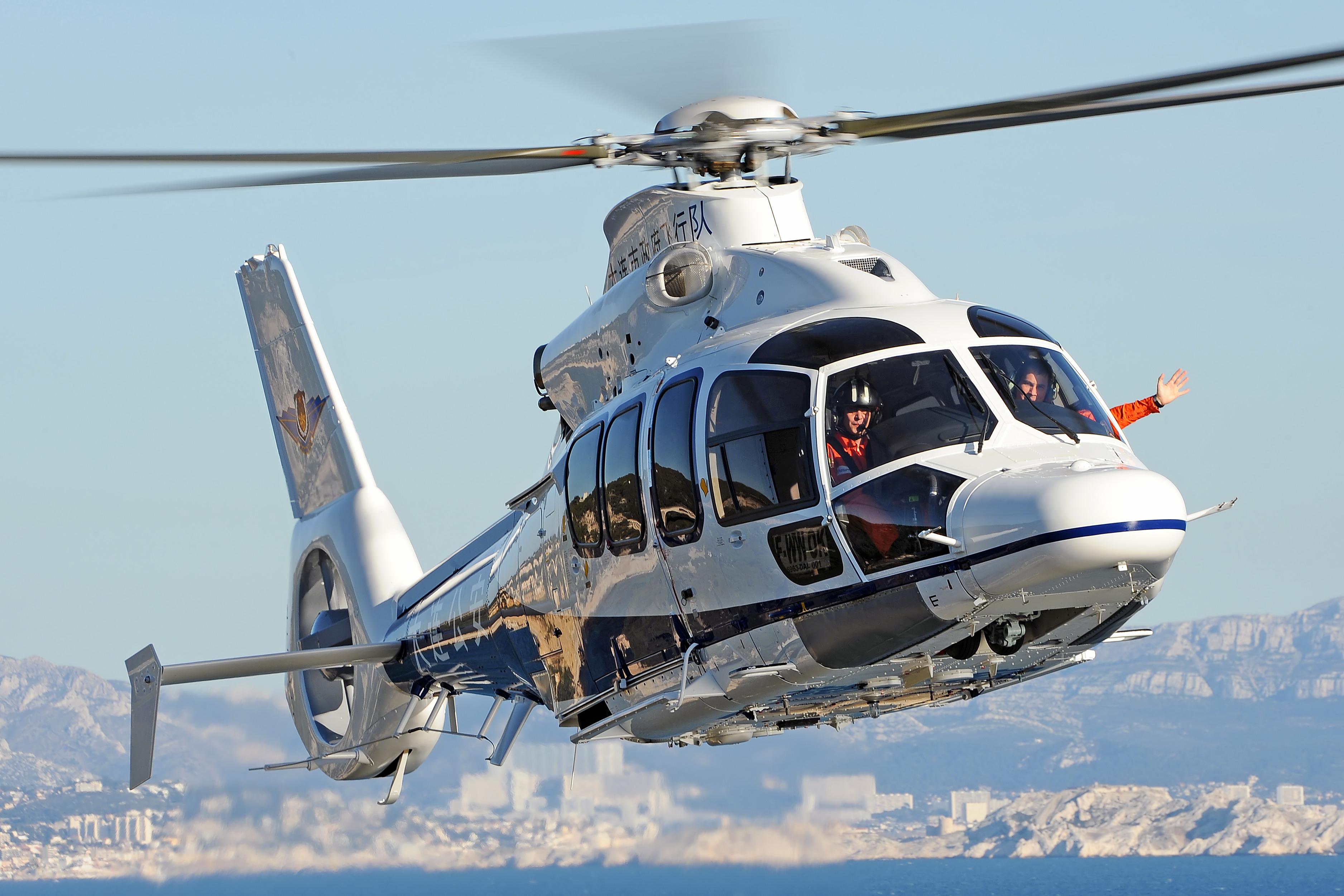 Elicottero In Tedesco : Consegnato alla città di dalian il secondo elicottero