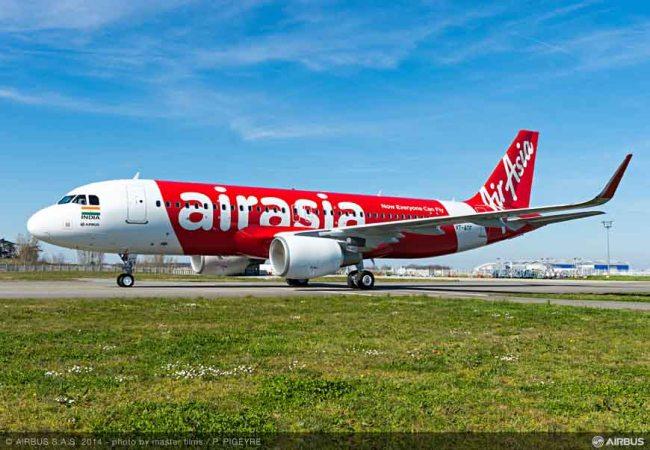 AirAsia India riceve il suo primo Airbus A320