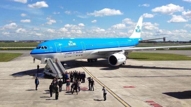 Airbus effettua con KLM il suo volo più lungo utilizzando carburante sostenibile