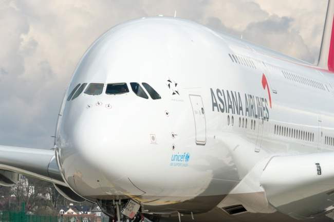 Asiana Airlines riceve il suo primo A380