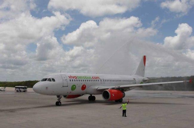 VivaAerobus inizia a operare l'A320 in Messico