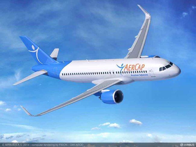 AerCap sigla un ordine fermo per 50 aeromobili Airbus della Famiglia A320neo