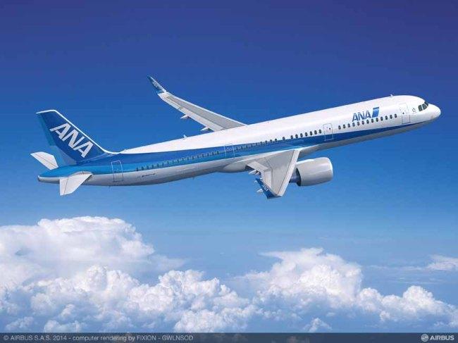 Airbus: ANA Holdings conferma l'ordine per gli aeromobili della Famiglia A320neo