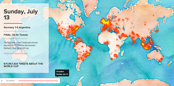 interactive map twitter world cup