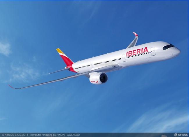 IAG conferma l'ordine per 8 aeromobili Airbus A350-900