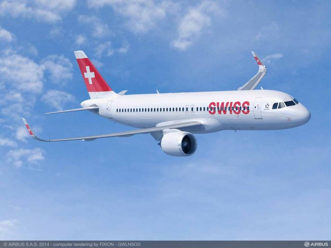Il Gruppo Lufthansa ordina 10 Airbus A320ceo per Eurowings e fino a 25 A320neo per Swiss International