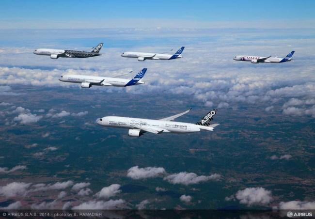 L'Airbus A350-900 consegue la Certificazione Tipo dell'EASA