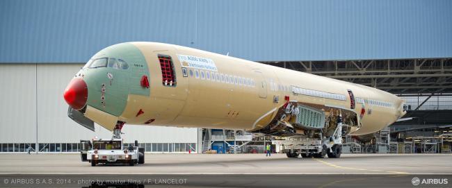 Il primo A350 XWB di Vietnam Airlines entra nella fase finale di assemblaggio