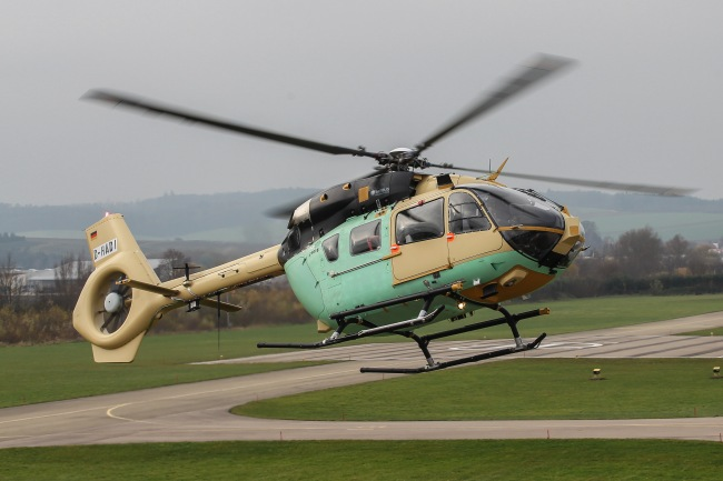 Il volo inaugurale dell'EC645 T2 (© Airbus Helicopters, Charles Abarr)