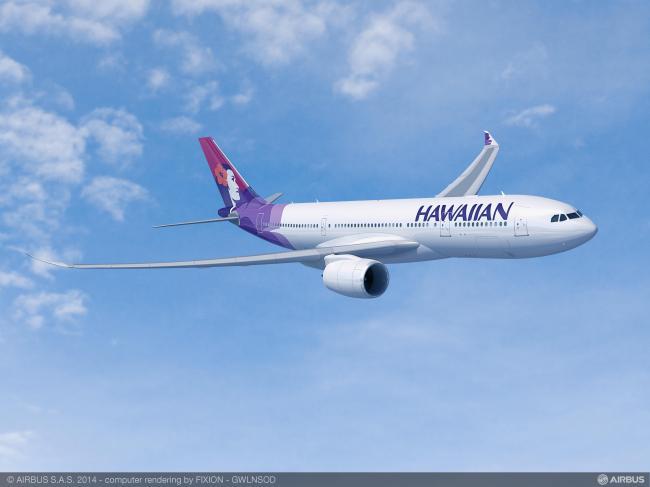 Hawaiian Airlines finalizza un ordine per aeromobili Airbus A330-800neo
