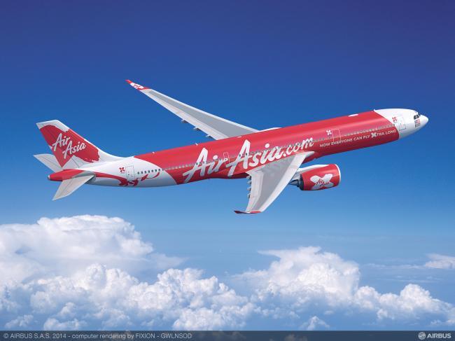 AirAsia X sigla un ordine fermo per 55 Airbus A330neo