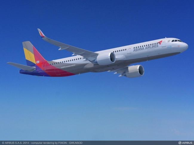 Asiana Airlines, ordine per 25 Airbus A321neo