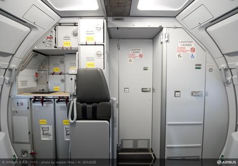 Vueling riceve il primo Airbus A320 con cabina Space-Flex