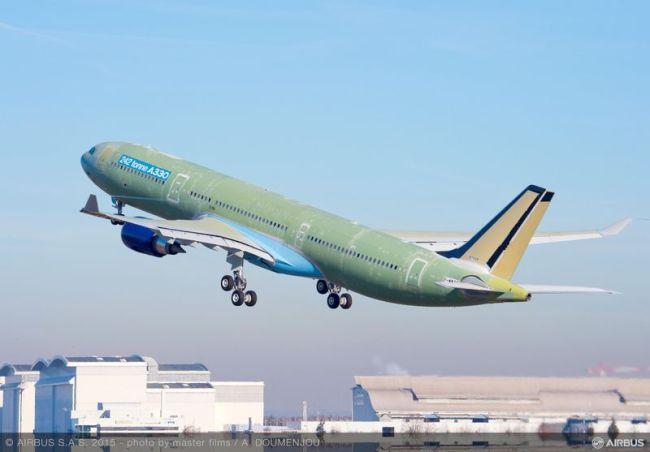L'EASA certifica l'ultima versione dell'A330 da 242 tonnellate, la più capiente