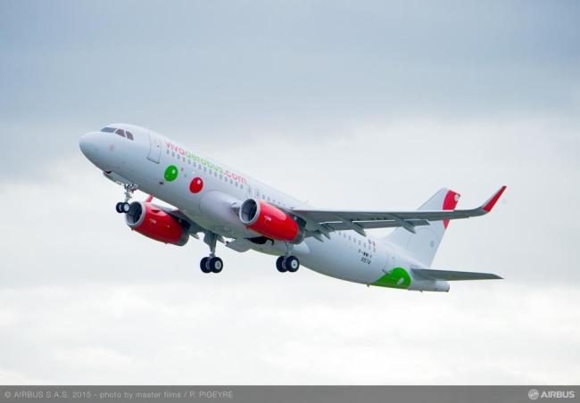 VivaAerobus riceve il primo A320 ordinato