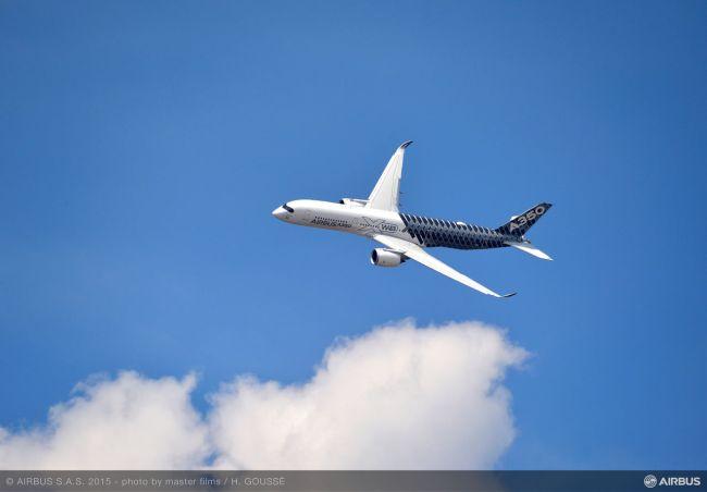 Airbus totalizza USD 57 miliardi di ordini e accordi al Salone di Le Bourge 2015