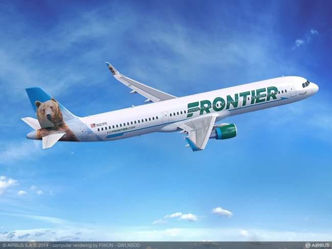 Frontier Airlines ordina 12 aeromobili della Famiglia A320