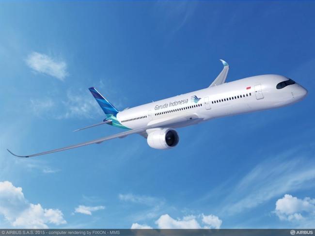 Airbus sigla una Lettera d'Intenti con Garuda Indonesia per 30 A350XWB