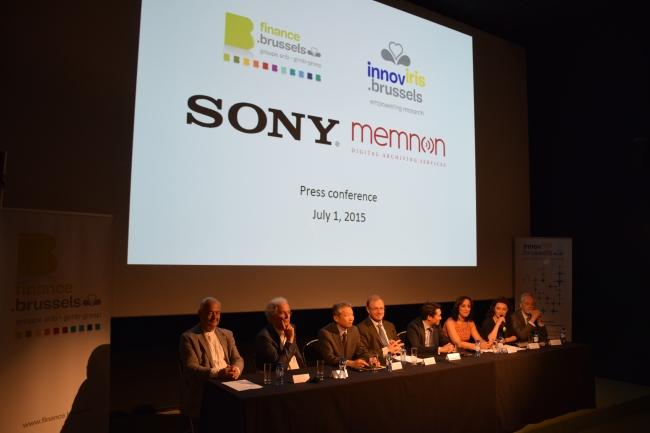 Sony acquisisce Memnon Archiving Services SA - conferenza stampa