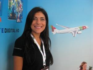 Araci Coimbra, General Manager TAP Portugal in Italia e Grecia