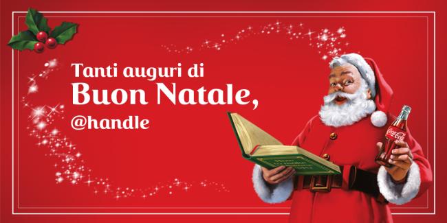 Coca-Cola sceglie Twitter per gli auguri di Natale 2015