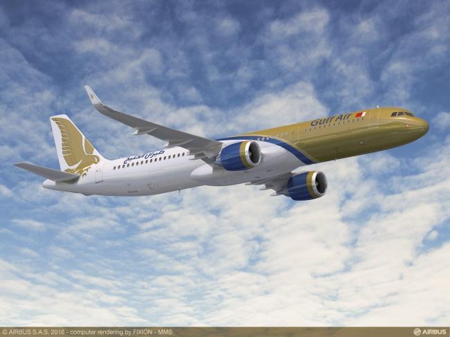 Gulf Air ordina 29 aeromobili della Famiglia A320neo