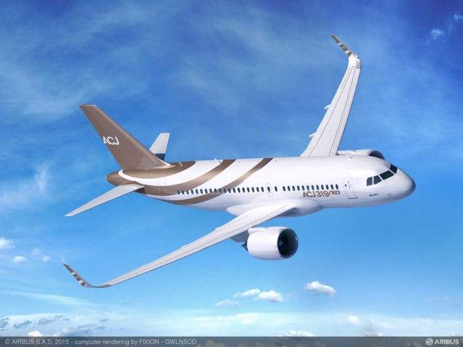 K5 Aviation ordina un Airbus ACJ319neo