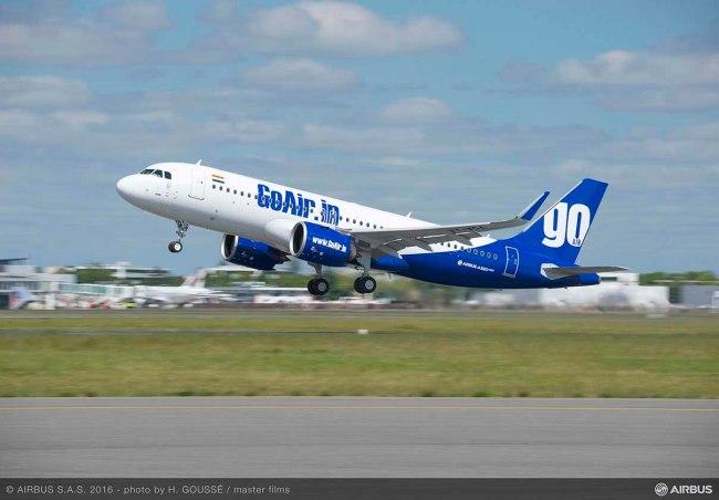Go Air raddoppia l'ordine per gli A320neo che salgono a 144