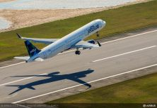 Airbus A321 First Flight