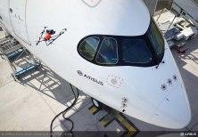 A Farnborough, Airbus mostra l'ispezione di un aeromobile effettuata con un drone
