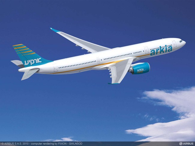 ARKIA_Israeli_Airlines_A330-900neo_