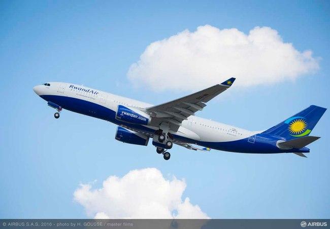 RwandAir riceve il suo primo aeromobile Airbus A330