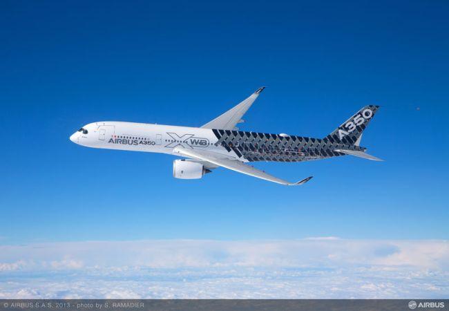 L'Airbus A350 XWB inizia il tour in Cina dall'Airshow di Zhuhai