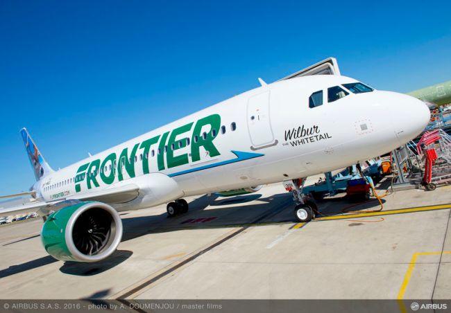 Frontier Airlines è il primo vettore a ricevere l'Airbus A320neo con motori CFM negli Stati Uniti