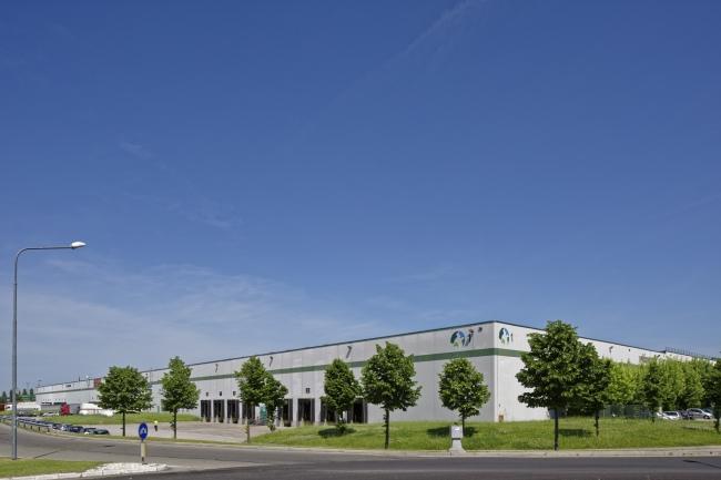Uno degli edifici Prologis presso Interporto Bologna