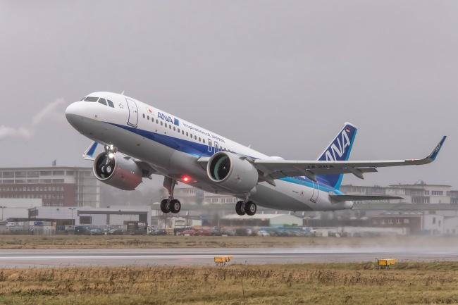 ANA riceve il suo primo Airbus A320neo