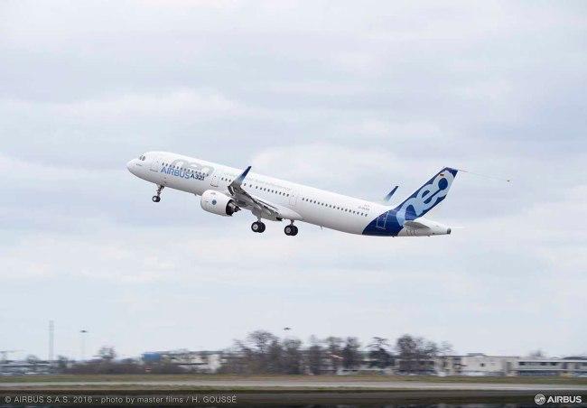 L'A321neo dotato di motorizzazione P&W ottiene la Certificazione di Tipo